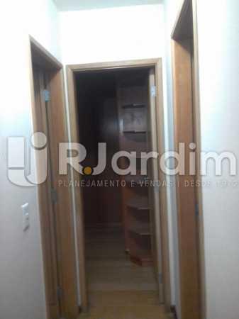 Corredor de acesso - Apartamento Leblon, Zona Sul,Rio de Janeiro, RJ À Venda, 3 Quartos, 106m² - LAAP32256 - 28