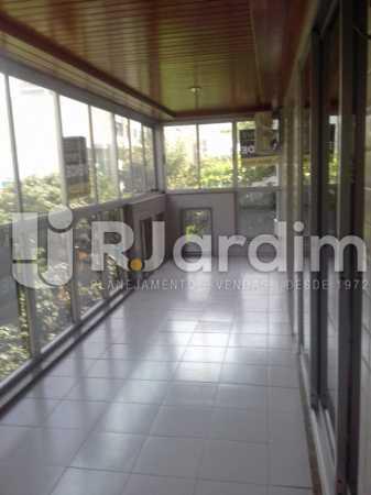 Varandão - Apartamento Leblon, Zona Sul,Rio de Janeiro, RJ À Venda, 3 Quartos, 106m² - LAAP32256 - 1