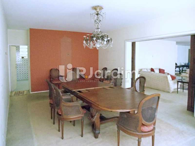 sala de jantar - Compra Venda Avaliação Imóveis Apartamento Copacabana 4 Quartos - LAAP40824 - 5