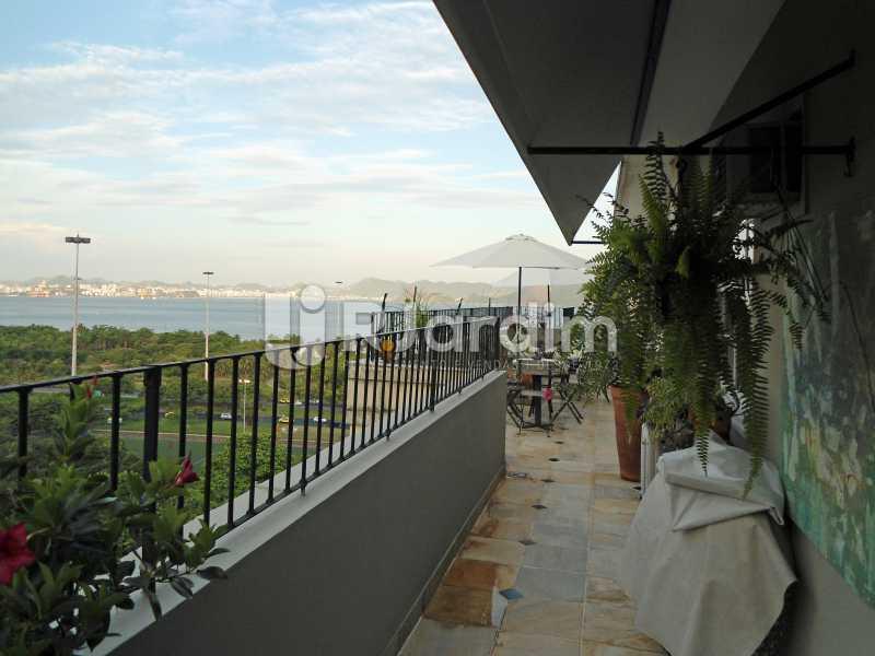 varanda - Apartamento Flamengo 2 Quartos Compra Venda - LAAP21619 - 3