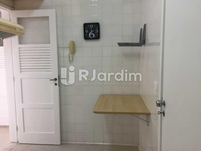 cozinha - Apartamento Para Alugar - Ipanema - Rio de Janeiro - RJ - LAAP21621 - 17