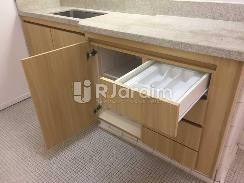 cozinha - Apartamento Para Alugar - Ipanema - Rio de Janeiro - RJ - LAAP21621 - 19