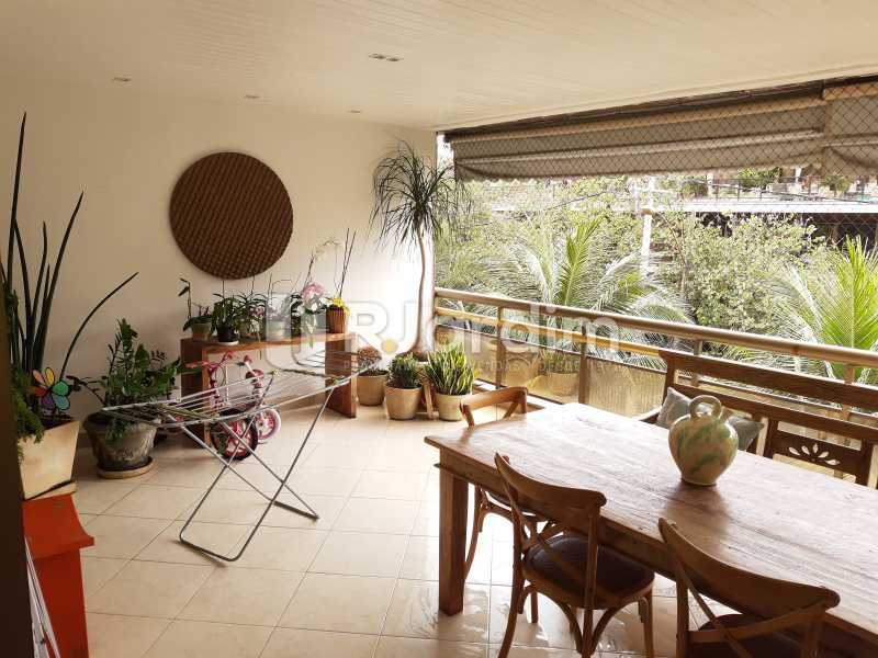 VARANDÃO - Apartamento Barra da Tijuca 4 Quartos - LAAP40826 - 4