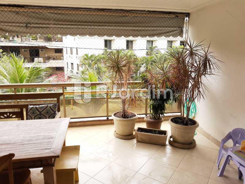 VARANDÃO - Apartamento Barra da Tijuca 4 Quartos - LAAP40826 - 7