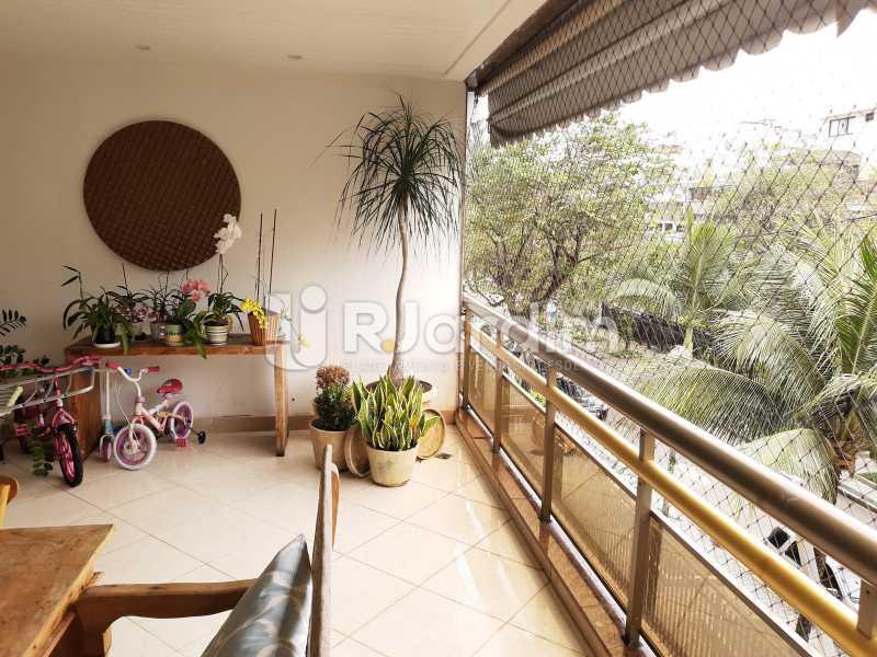 VARANDÃO - Apartamento Barra da Tijuca 4 Quartos - LAAP40826 - 6