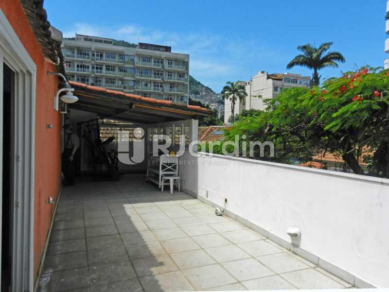 terraço - Casa Triplex Residencial Botafogo 5 Quartos Garagem Compra Venda Avaliação Imóveis - LACV50002 - 29