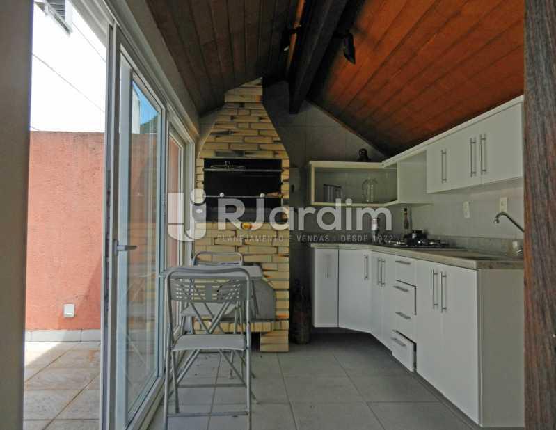 churrasquira - Casa Triplex Residencial Botafogo 5 Quartos Garagem Compra Venda Avaliação Imóveis - LACV50002 - 30