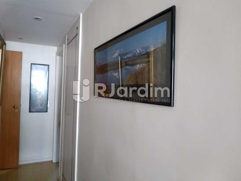 circulação/acesso aos quartos - Apartamento Leblon 3 Quartos - LAAP32262 - 19