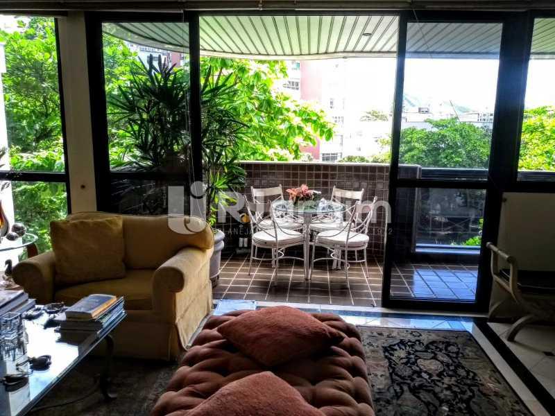 sala /varanda - Apartamento Leblon 3 Quartos - LAAP32262 - 5