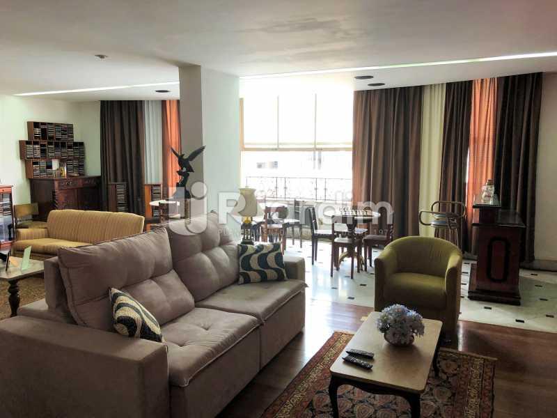 Salão - Apartamento Rua Xavier da Silveira,Copacabana, Zona Sul,Rio de Janeiro, RJ À Venda, 4 Quartos, 356m² - LAAP40831 - 4