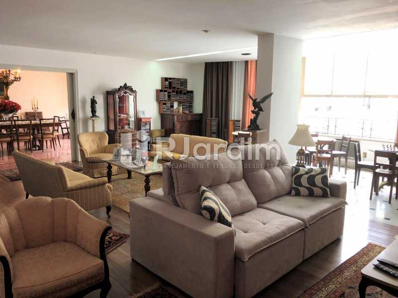 Salão - Apartamento Rua Xavier da Silveira,Copacabana, Zona Sul,Rio de Janeiro, RJ À Venda, 4 Quartos, 356m² - LAAP40831 - 3