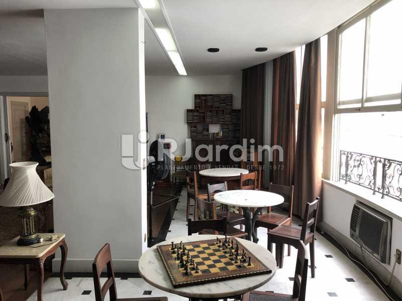 Salão - Apartamento Rua Xavier da Silveira,Copacabana, Zona Sul,Rio de Janeiro, RJ À Venda, 4 Quartos, 356m² - LAAP40831 - 5