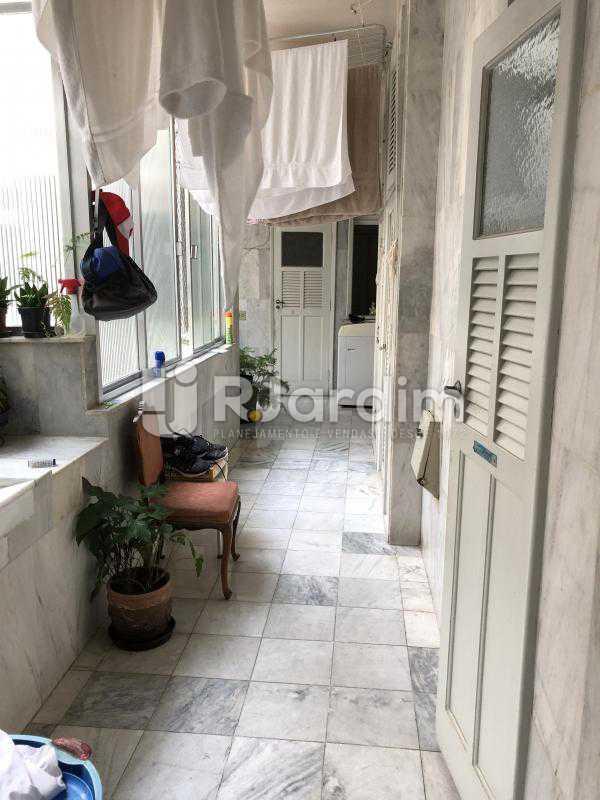 Área de serviço - Apartamento Rua Xavier da Silveira,Copacabana, Zona Sul,Rio de Janeiro, RJ À Venda, 4 Quartos, 356m² - LAAP40831 - 31