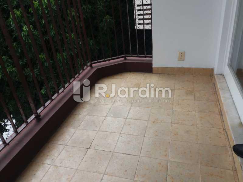 Varanda - Apartamento Rua Pinheiro Guimarães,Botafogo, Zona Sul,Rio de Janeiro, RJ À Venda, 2 Quartos, 86m² - LAAP21634 - 3