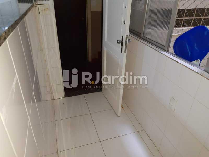 área serviço - Apartamento Rua Santa Clara,Copacabana, Zona Sul,Rio de Janeiro, RJ À Venda, 3 Quartos, 120m² - LAAP32276 - 27