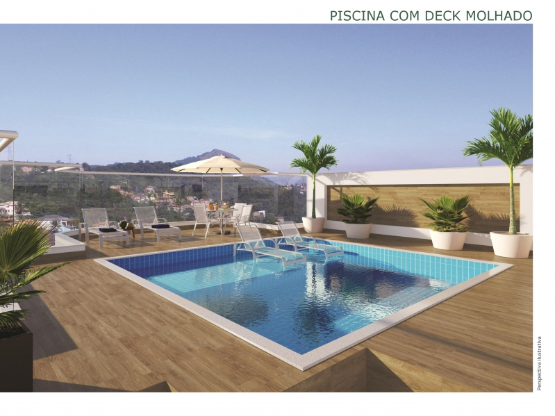 Piscina com deck molhado - Apartamento Vila Isabel,Zona Norte - Grande Tijuca,Rio de Janeiro,RJ À Venda,2 Quartos,68m² - LAAP21640 - 8