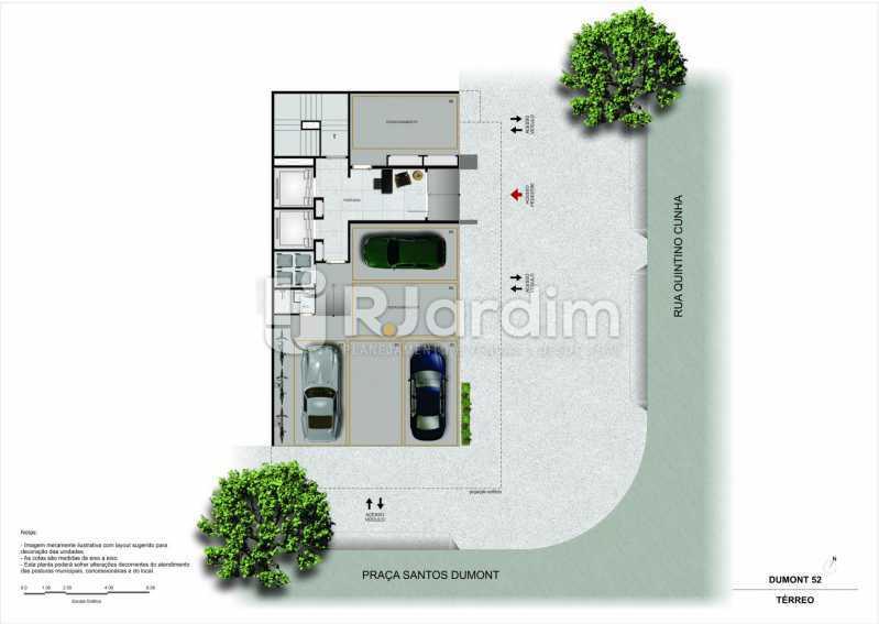 dumont52gavea 6 - Apartamento 3 Quartos À Venda Gávea, Zona Sul,Rio de Janeiro - R$ 2.420.000 - LAAP32380 - 8