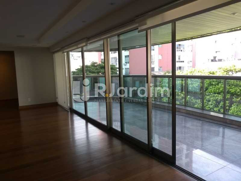 varanda  - Apartamento Leblon 4 Quartos - LAAP40837 - 6