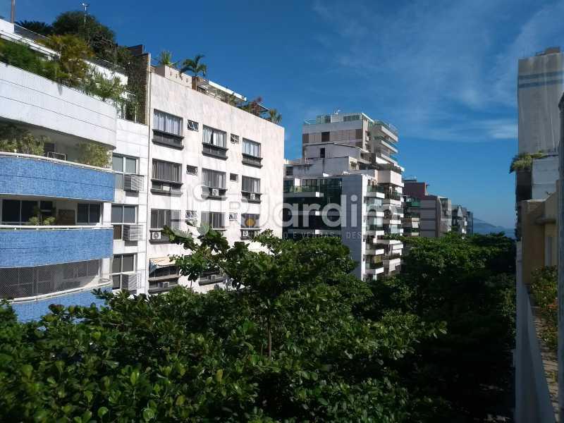 Vista varanda  - Apartamento Leblon 4 Quartos - LAAP40837 - 1