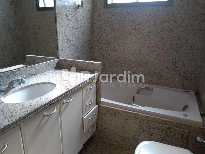 hidro / suíte master  - Apartamento Leblon 4 Quartos - LAAP40837 - 14