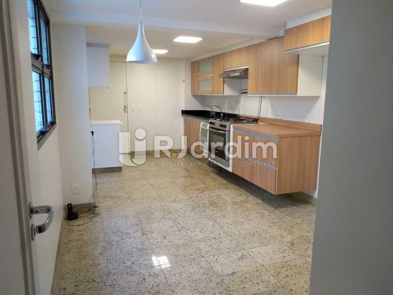 cozinha  - Apartamento Leblon 4 Quartos - LAAP40837 - 17