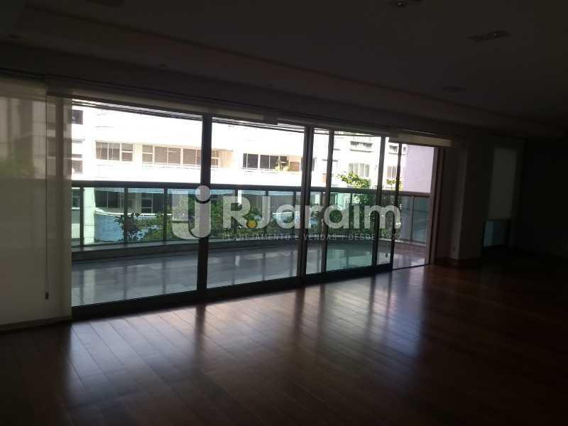 salão / varanda  - Apartamento Leblon 4 Quartos - LAAP40837 - 7