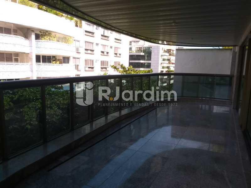 varanda  - Apartamento Leblon 4 Quartos - LAAP40837 - 9