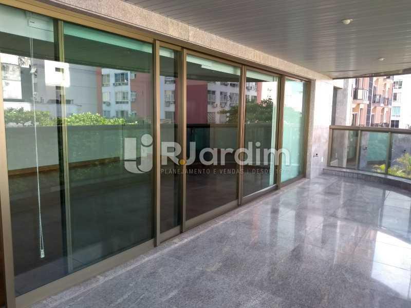 janelões / salão  - Apartamento Leblon 4 Quartos - LAAP40837 - 8