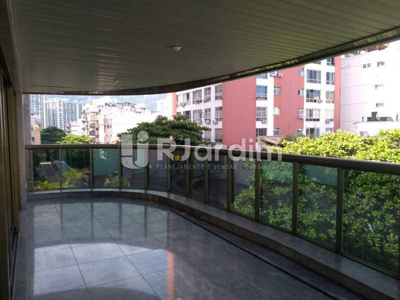 varanda  - Apartamento Leblon 4 Quartos - LAAP40837 - 10