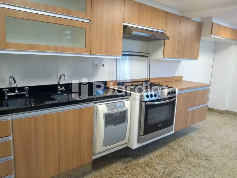 cozinha  - Apartamento Leblon 4 Quartos - LAAP40837 - 18