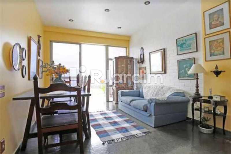 sala primeiro andar - Cobertura Duplex Barra da Tijuca 2 Quartos - LACO20112 - 12