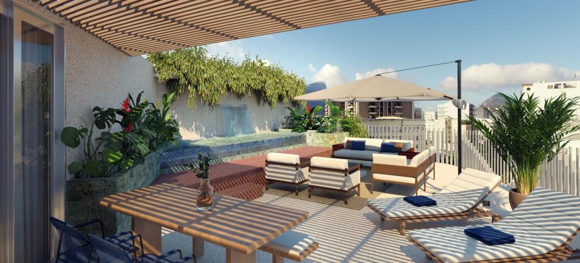 BRISA - Apartamento 2 quartos à venda Leblon, Zona Sul,Rio de Janeiro - R$ 1.983.294 - LAAP21649 - 7
