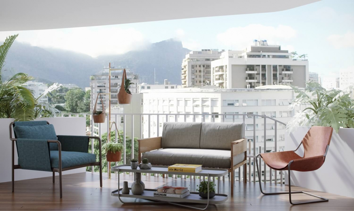 BRISA - Apartamento 2 quartos à venda Leblon, Zona Sul,Rio de Janeiro - R$ 1.983.294 - LAAP21649 - 9