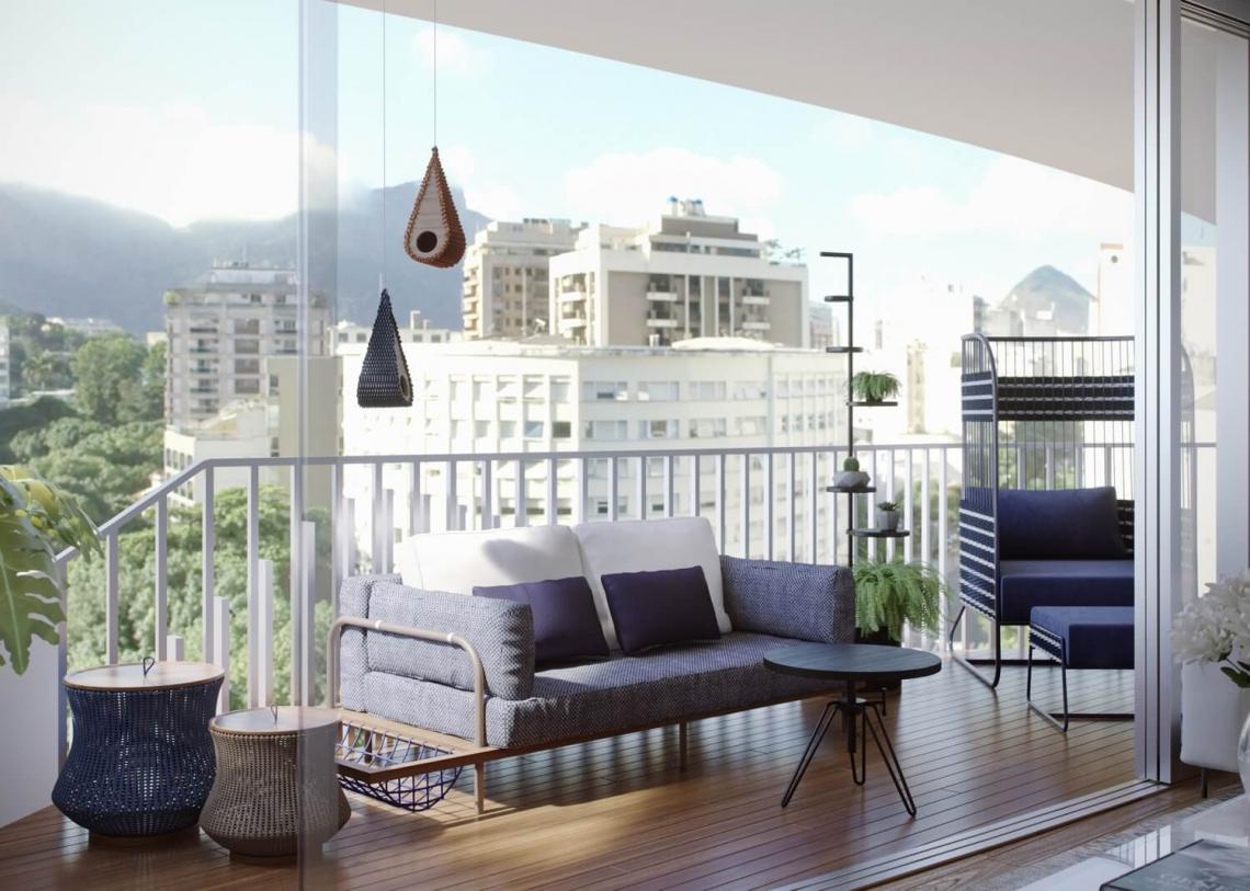 BRISA - Apartamento Leblon, Zona Sul,Rio de Janeiro, RJ À Venda, 2 Quartos, 93m² - LAAP21649 - 12