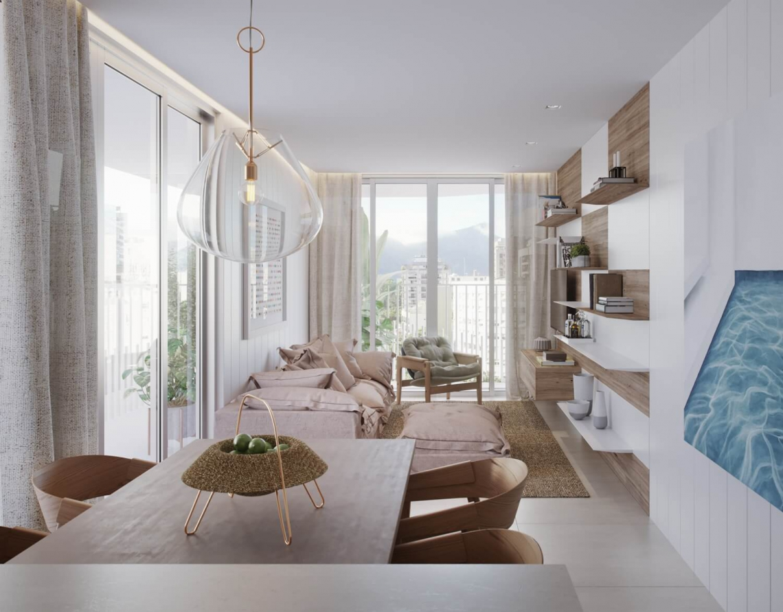 BRISA - Apartamento Leblon, Zona Sul,Rio de Janeiro, RJ À Venda, 2 Quartos, 93m² - LAAP21649 - 16