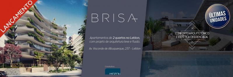 BRISA - Apartamento Leblon, Zona Sul,Rio de Janeiro, RJ À Venda, 2 Quartos, 93m² - LAAP21649 - 1