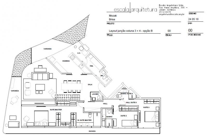 BRISA - Apartamento Leblon, Zona Sul,Rio de Janeiro, RJ À Venda, 2 Quartos, 93m² - LAAP21649 - 25