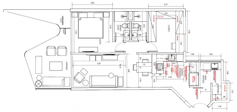 BRISA - Apartamento 2 quartos à venda Leblon, Zona Sul,Rio de Janeiro - R$ 1.983.294 - LAAP21649 - 27