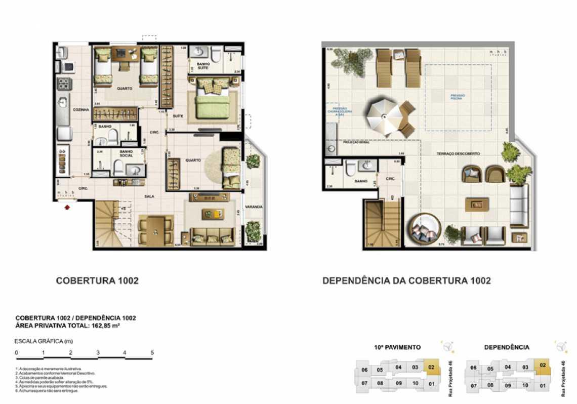 COBERTURA 1002 - Apartamento Recreio dos Bandeirantes, Zona Oeste - Barra e Adjacentes,Rio de Janeiro, RJ À Venda, 3 Quartos, 82m² - LAAP32294 - 17