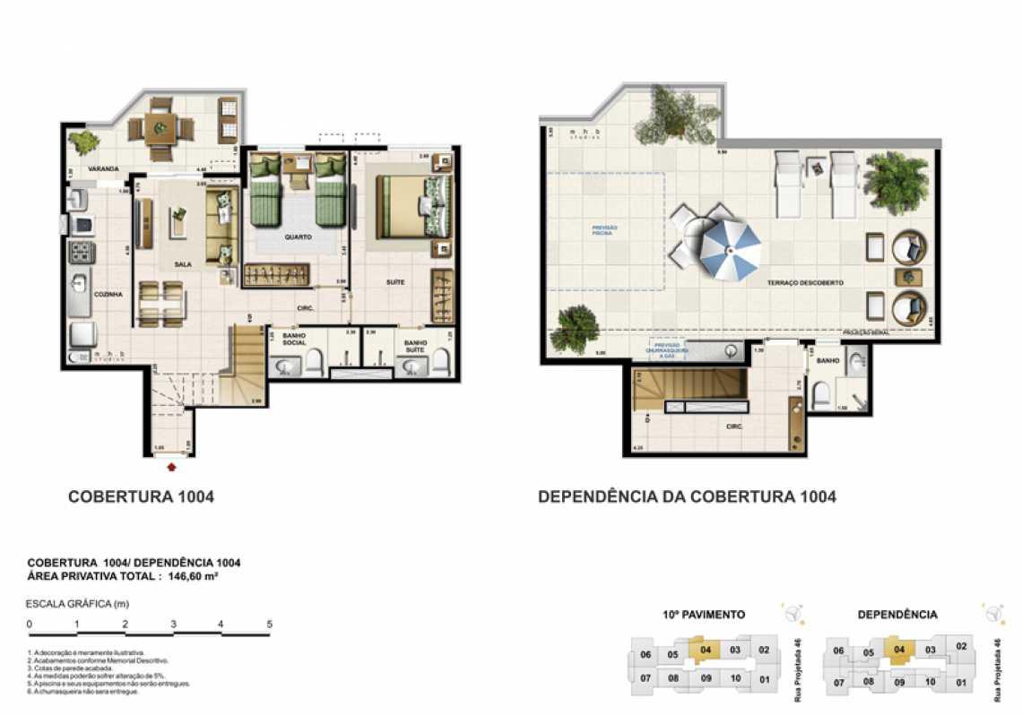 COBERTURA 1004 - Apartamento Recreio dos Bandeirantes, Zona Oeste - Barra e Adjacentes,Rio de Janeiro, RJ À Venda, 3 Quartos, 82m² - LAAP32294 - 19