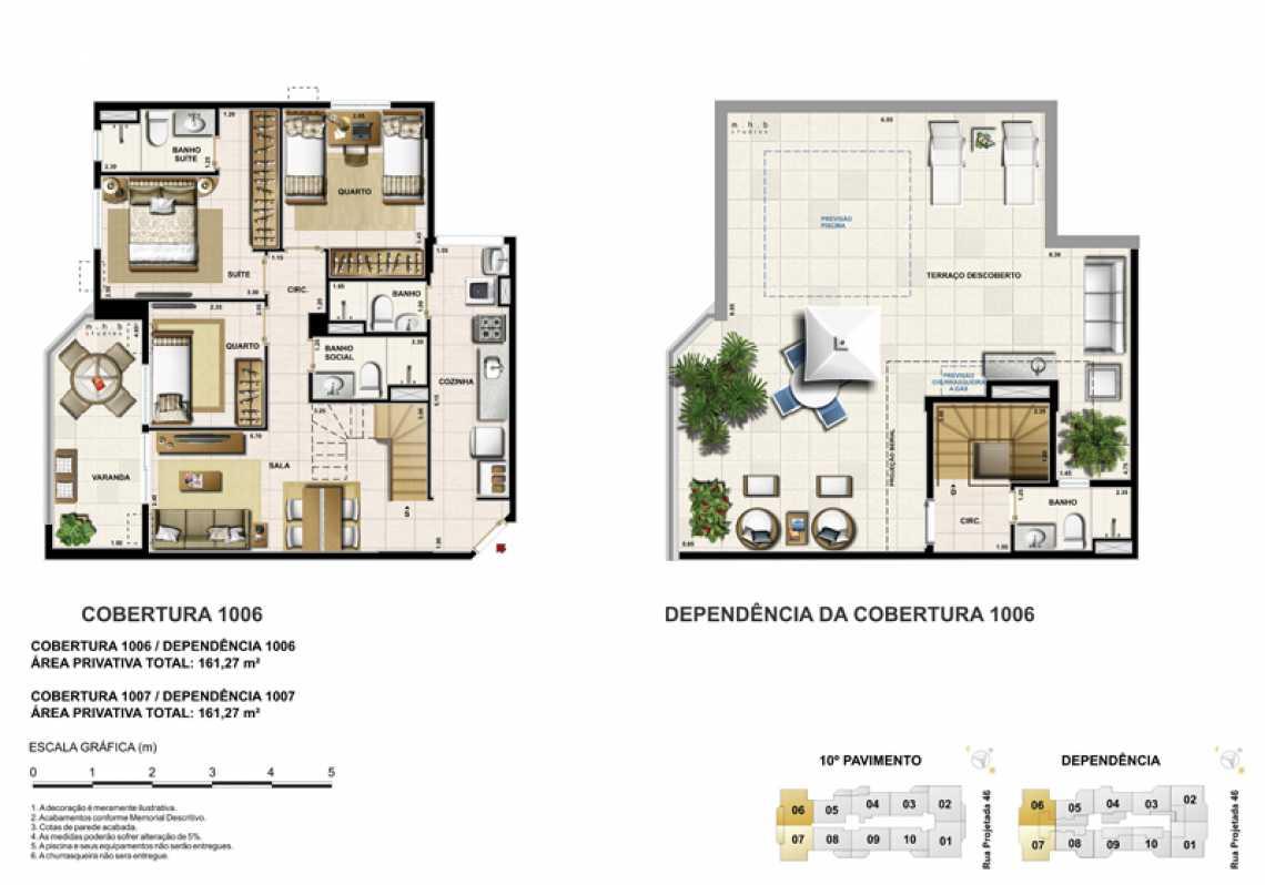 COBERTURA 1006 - Apartamento Recreio dos Bandeirantes, Zona Oeste - Barra e Adjacentes,Rio de Janeiro, RJ À Venda, 3 Quartos, 82m² - LAAP32294 - 21