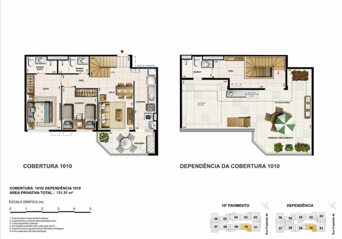 COBERTURA 1010 - Apartamento Recreio dos Bandeirantes, Zona Oeste - Barra e Adjacentes,Rio de Janeiro, RJ À Venda, 3 Quartos, 82m² - LAAP32294 - 24