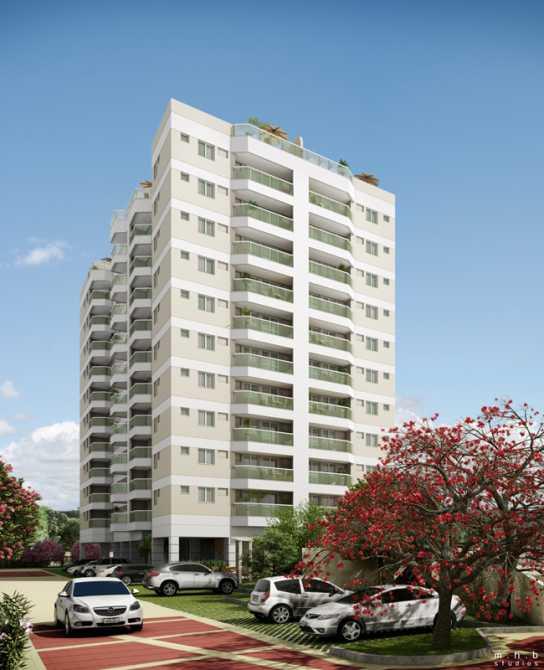 FACHADA - Apartamento Recreio dos Bandeirantes, Zona Oeste - Barra e Adjacentes,Rio de Janeiro, RJ À Venda, 3 Quartos, 82m² - LAAP32294 - 1