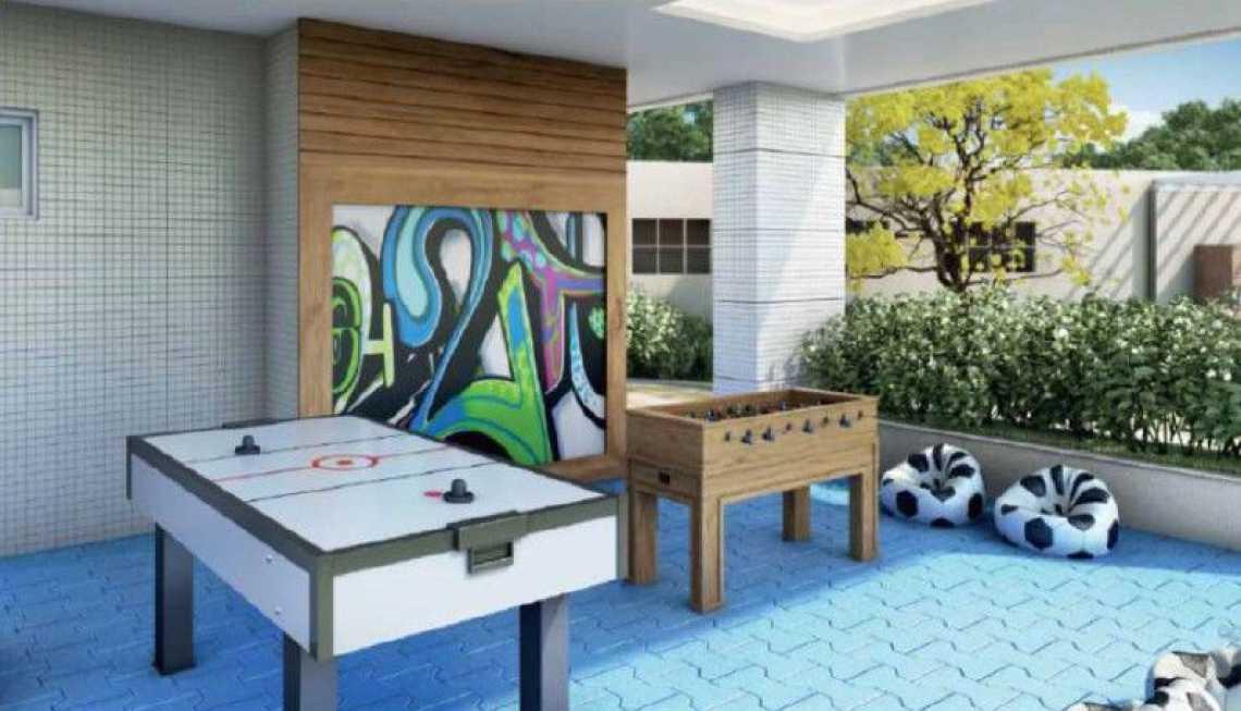 SALÃO DE JOGOS - Apartamento Recreio dos Bandeirantes, Zona Oeste - Barra e Adjacentes,Rio de Janeiro, RJ À Venda, 3 Quartos, 82m² - LAAP32294 - 6