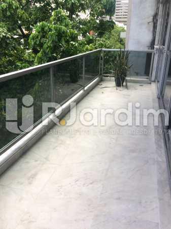 Varanda - Apartamento Leblon 3 Quartos Aluguel - LAAP32301 - 1