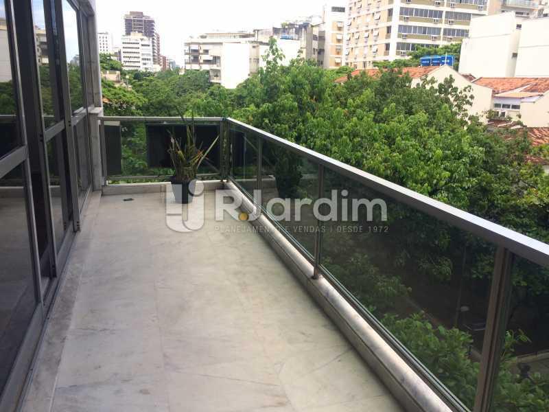 Varanda - Apartamento Leblon 3 Quartos Aluguel - LAAP32301 - 3