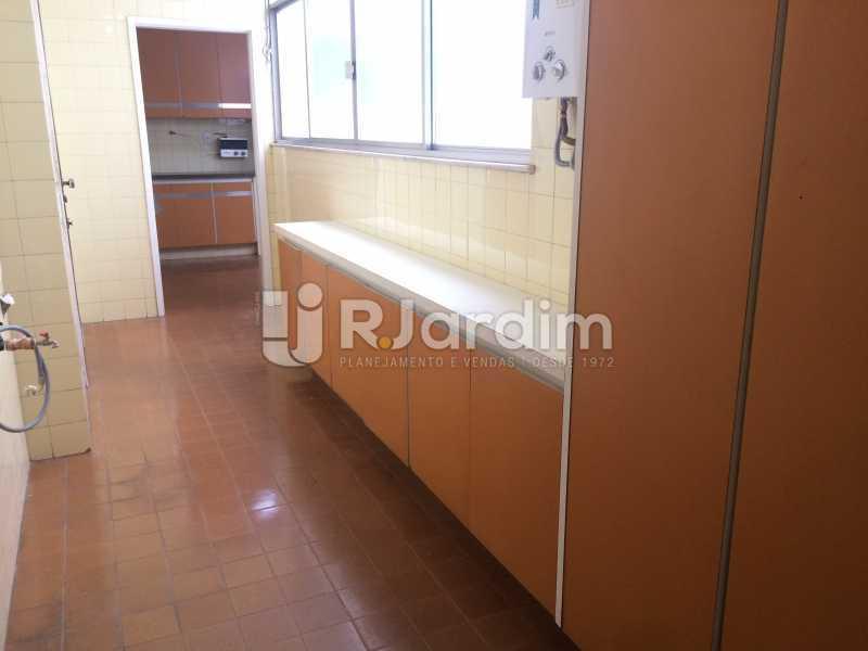 Área de serviço - Apartamento Leblon 3 Quartos Aluguel - LAAP32301 - 27
