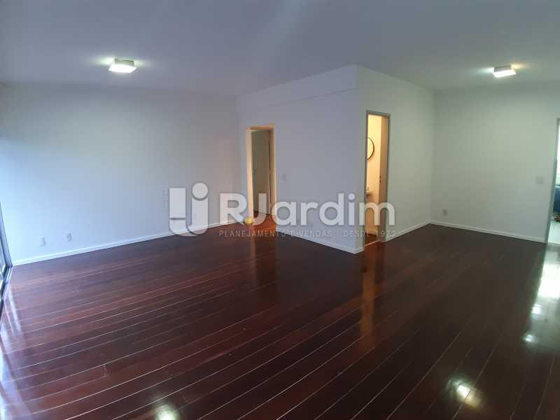 Salas de estar e jantar - Apartamento Urca 4 Quartos Aluguel - LAAP40839 - 4