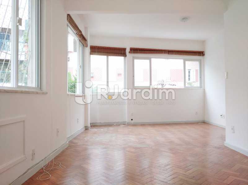 sala - apartamento com 2 quartos, frente, jardim botanico - LAAP21656 - 1