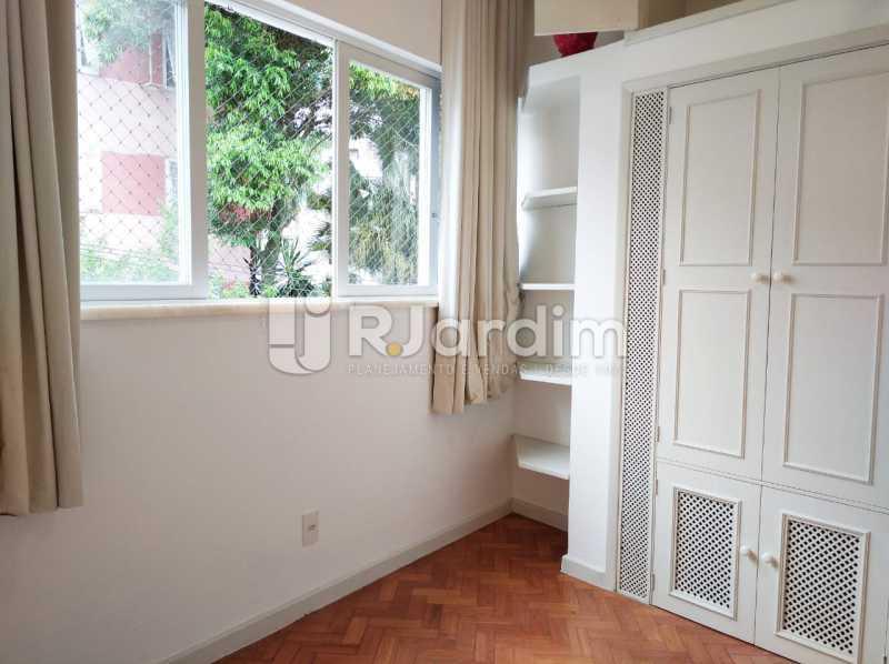 quarto1 - apartamento com 2 quartos, frente, jardim botanico - LAAP21656 - 6